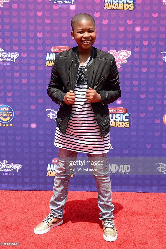 Actors Brandon Severs attends the 2016 Radio Disney Music Awards at Microsoft Theater on April 30, 2016 in Los Angeles, California.