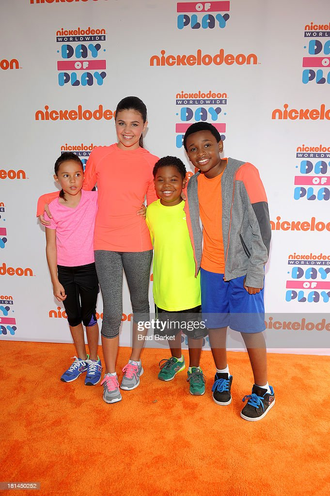 Nickelodeon 10th Annual Worldwide Day of Play - Orange Carpet