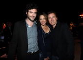 Actors Brendan Hines Kelli Williams and Tim Roth attend the Twentieth Century Fox 75th Anniversary Party held at the Fox Studio Lot on May 27 2010 in...