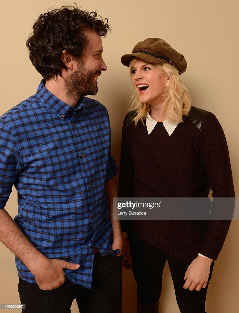 Actors <a gi-track='captionPersonalityLinkClicked' href=/galleries/search?phrase=Bret+McKenzie&family=editorial&specificpeople=4329701 ng-click='$event.stopPropagation()'>Bret McKenzie</a> and <a gi-track='captionPersonalityLinkClicked' href=/galleries/search?phrase=Georgia+King&family=editorial&specificpeople=5846970 ng-click='$event.stopPropagation()'>Georgia King</a> pose for a portrait during the 2013 Sundance Film Festival at the Getty Images Portrait Studio at Village at the Lift on January 19, 2013 in Park City, Utah.
