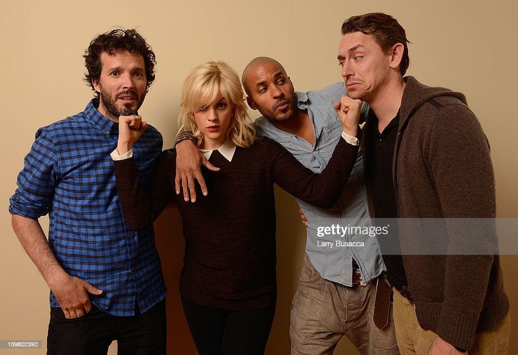Actors <a gi-track='captionPersonalityLinkClicked' href=/galleries/search?phrase=Bret+McKenzie&family=editorial&specificpeople=4329701 ng-click='$event.stopPropagation()'>Bret McKenzie</a>, <a gi-track='captionPersonalityLinkClicked' href=/galleries/search?phrase=Georgia+King&family=editorial&specificpeople=5846970 ng-click='$event.stopPropagation()'>Georgia King</a>, <a gi-track='captionPersonalityLinkClicked' href=/galleries/search?phrase=Ricky+Whittle&family=editorial&specificpeople=3358286 ng-click='$event.stopPropagation()'>Ricky Whittle</a> and <a gi-track='captionPersonalityLinkClicked' href=/galleries/search?phrase=JJ+Feild&family=editorial&specificpeople=3212976 ng-click='$event.stopPropagation()'>JJ Feild</a> pose for a portrait during the 2013 Sundance Film Festival at the Getty Images Portrait Studio at Village at the Lift on January 19, 2013 in Park City, Utah.