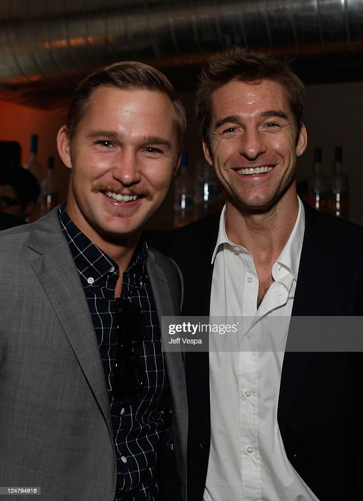 Actors Brian Geraghty and Scott Speedman attend the 'Ten Year' dinner hosted by GREY GOOSE Vodka at Soho House Pop Up Club during the 2011 Toronto International Film Festival on September 12, 2011 in Toronto, Canada.