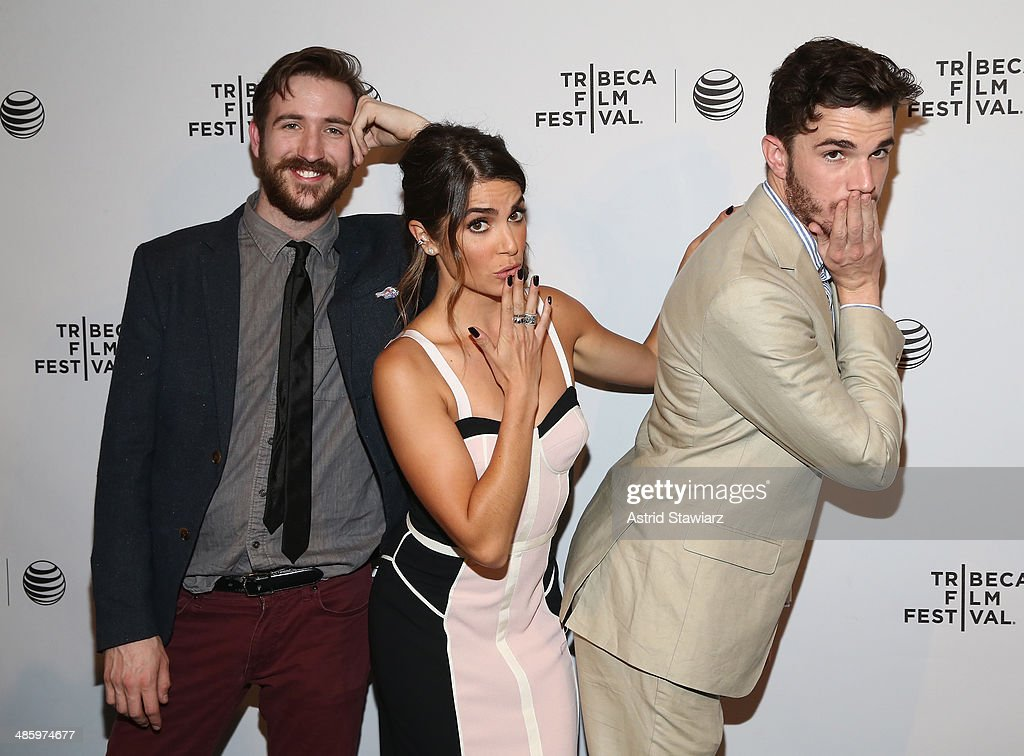 Actors Brian McElhaney, Nikki Reed and Will Elliott attends the 'Intramural' Premiere during the 2014 Tribeca Film Festival at AMC Loews Village 7 on April 21, 2014 in New York City.