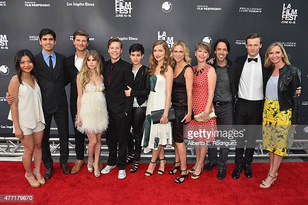 Actors Brianne Tju Tom Maden Amadeus Serafini Carlson Young John Karna Bex TaylorKlaus Willa Fitzgerald and Tracy Middendorf writerproducers Jill E...