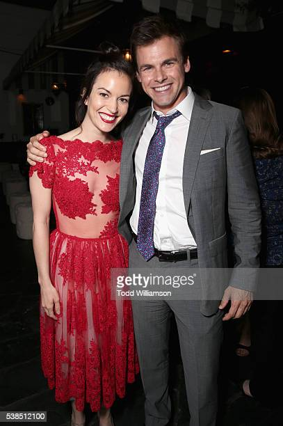 Actors Britt Lower and Tommy Dewey attend the 'Casual' Season 2 premiere and FYC event at ArcLight Hollywood on June 6 2016 in Los Angeles California