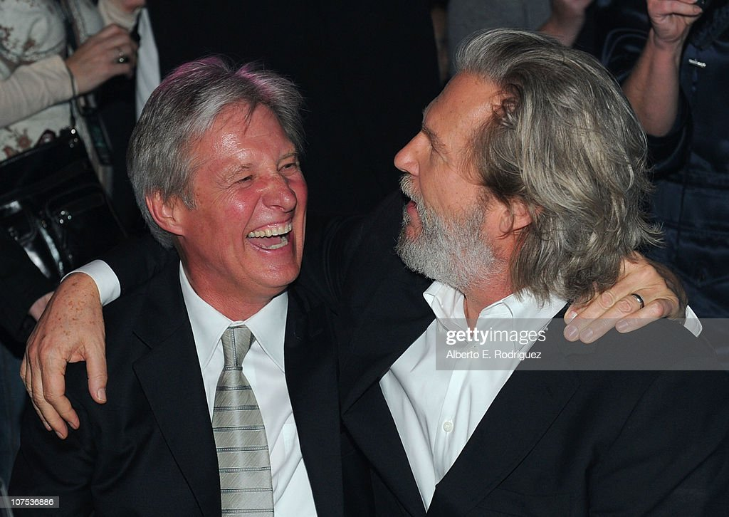 Actors <a gi-track='captionPersonalityLinkClicked' href=/galleries/search?phrase=Bruce+Boxleitner&family=editorial&specificpeople=221415 ng-click='$event.stopPropagation()'>Bruce Boxleitner</a> (L) and <a gi-track='captionPersonalityLinkClicked' href=/galleries/search?phrase=Jeff+Bridges&family=editorial&specificpeople=201735 ng-click='$event.stopPropagation()'>Jeff Bridges</a> attend Walt Disney's 'TRON: Legacy' World Premiere after party held at The Grand Ballroom on December 11, 2010 in Los Angeles, California.