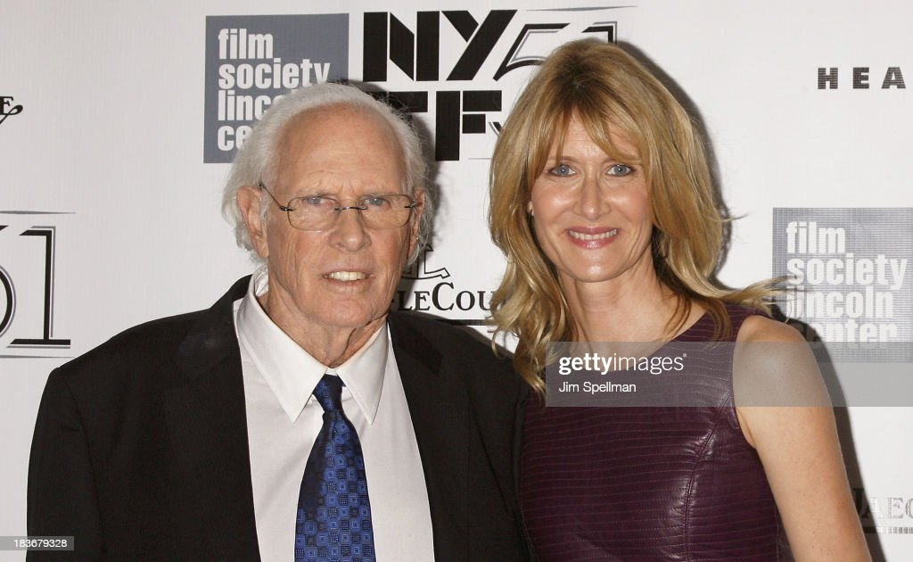 Actors <a gi-track='captionPersonalityLinkClicked' href=/galleries/search?phrase=Bruce+Dern&family=editorial&specificpeople=239171 ng-click='$event.stopPropagation()'>Bruce Dern</a> and <a gi-track='captionPersonalityLinkClicked' href=/galleries/search?phrase=Laura+Dern&family=editorial&specificpeople=204203 ng-click='$event.stopPropagation()'>Laura Dern</a> attend the 'Nebraska' Premiere during the 51st New York Film Festival at Alice Tully Hall at Lincoln Center on October 8, 2013 in New York City.