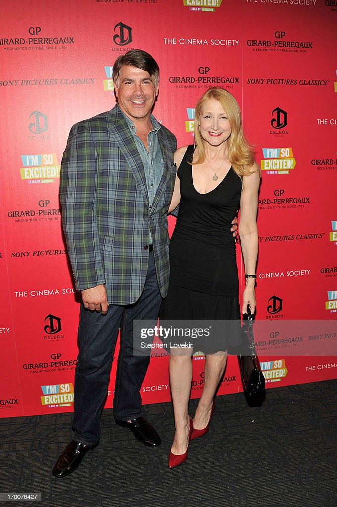 Actors Bryan Batt and Praticia Clarkson atttend GirardPerregaux And The Cinema Society With DeLeon Host a Screening Of Sony Pictures Classics' 'I'm...