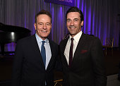 Actors Bryan Cranston and Jon Hamm attend HFPA Annual Grants Banquet at the Beverly Wilshire Four Seasons Hotel on August 13 2015 in Beverly Hills...