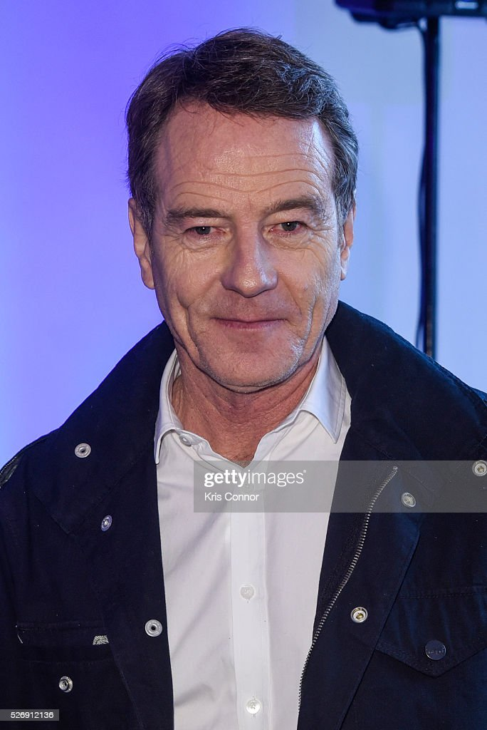 Actors <a gi-track='captionPersonalityLinkClicked' href=/galleries/search?phrase=Bryan+Cranston&family=editorial&specificpeople=217768 ng-click='$event.stopPropagation()'>Bryan Cranston</a> poses for a photo during the 2016 CNN Correspondents' Brunch at the Longview gallery in Washington, DC on May 1, 2016.