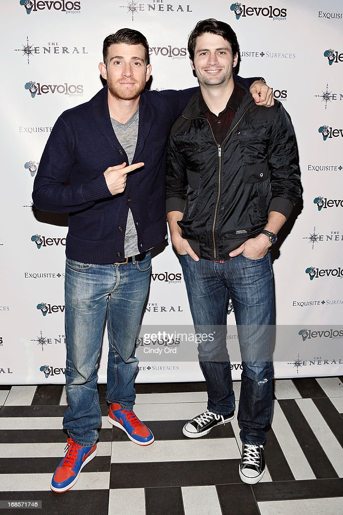 Actors <a gi-track='captionPersonalityLinkClicked' href=/galleries/search?phrase=Bryan+Greenberg&family=editorial&specificpeople=2135761 ng-click='$event.stopPropagation()'>Bryan Greenberg</a> and <a gi-track='captionPersonalityLinkClicked' href=/galleries/search?phrase=James+Lafferty&family=editorial&specificpeople=214146 ng-click='$event.stopPropagation()'>James Lafferty</a> attend The Second Annual Olevolos Project Fundraiser at The General on May 11, 2013 in New York City.