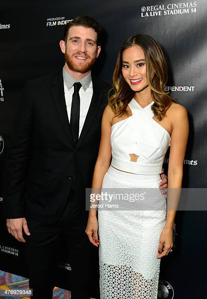 Actors Bryan Greenberg and Jamie Chung attend the 'It's Already Tomorrow in Hong Kong' screening during the 2015 Los Angeles Film Festival at Regal...