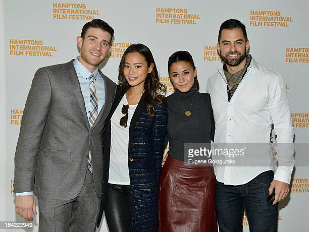 Actors Bryan Greenberg Jamie Chung Emmanuelle Chriqui and Adrian Bellani attend the 21st Annual Hamptons International Film Festival on October 12...