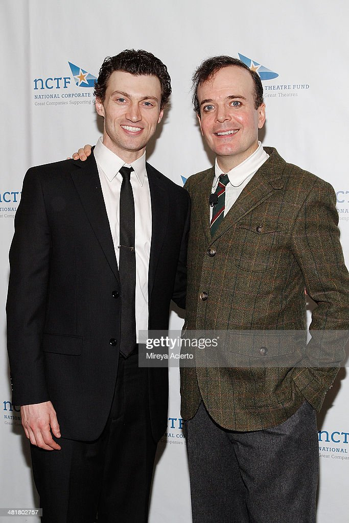 Actors <a gi-track='captionPersonalityLinkClicked' href=/galleries/search?phrase=Bryce+Pinkham&family=editorial&specificpeople=7178088 ng-click='$event.stopPropagation()'>Bryce Pinkham</a> and <a gi-track='captionPersonalityLinkClicked' href=/galleries/search?phrase=Jefferson+Mays&family=editorial&specificpeople=211336 ng-click='$event.stopPropagation()'>Jefferson Mays</a> attend the 2014 National Corporate Theatre Fund Chairman's Awards Gala at The Pierre Hotel on March 31, 2014 in New York City.
