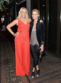 Actors Busy Philipps and Julie Bowen attend the Women In Comedy event with July cover stars Leslie Jones Melissa McCarthy Kate McKinnon and Kristen...