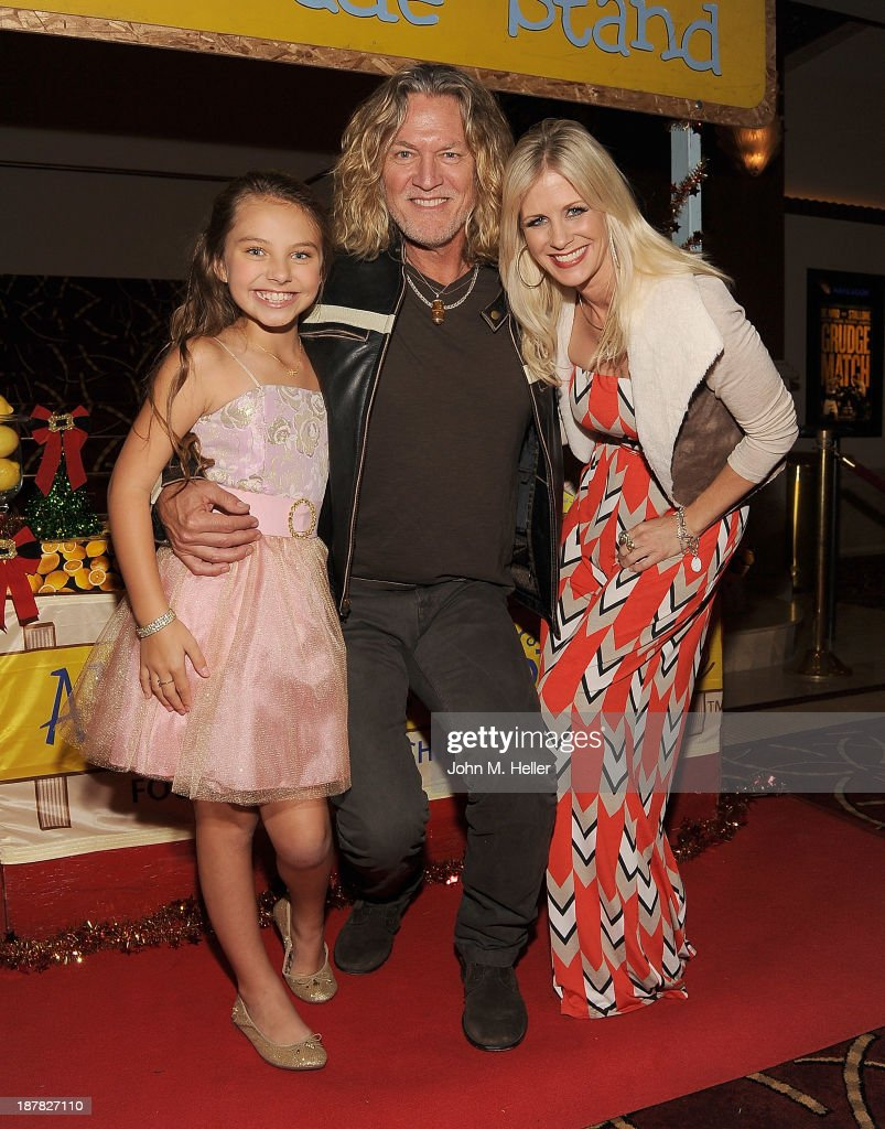 Actors Caitlin Carmichael, William Shockley and Tiiu Loigu attend the screening of 'A Country Christmas' at the Pacific Theatre at The Grove on November 12, 2013 in Los Angeles, California.