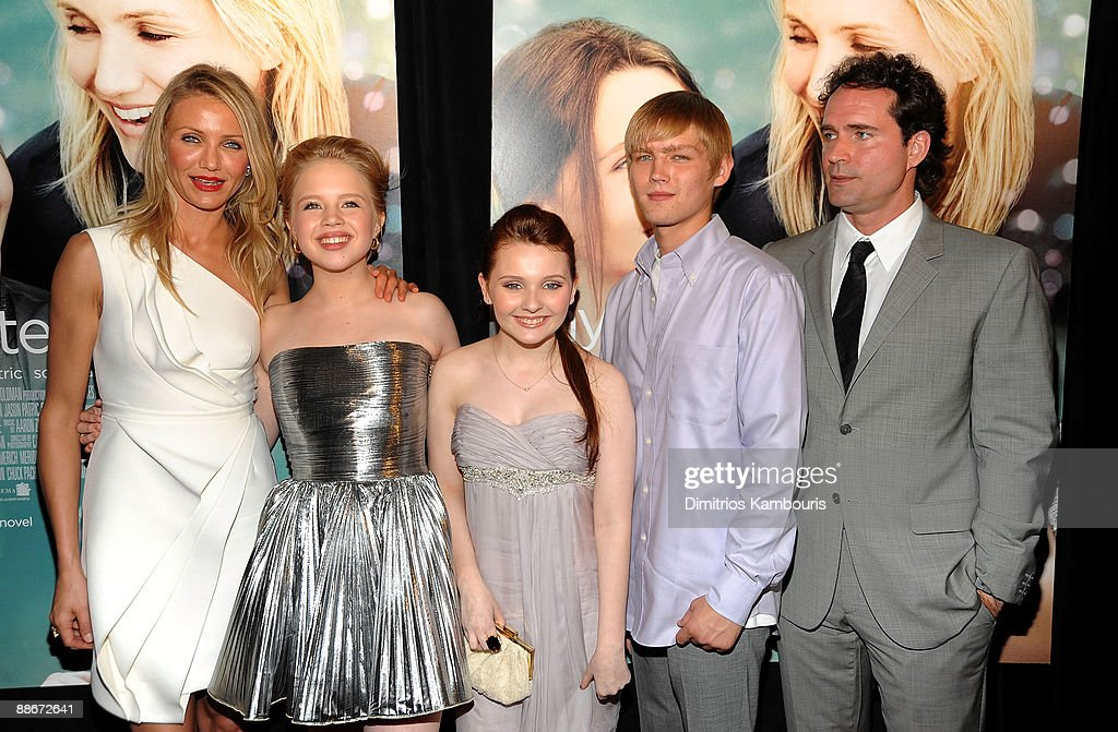 Actors Cameron Diaz, Sofia Vassilieva, Abigail Breslin, Evan Ellinson and Jason Patric attend the premiere of 'My Sister's Keeper' at the AMC Lincoln Square theater on June 24, 2009 in New York City.