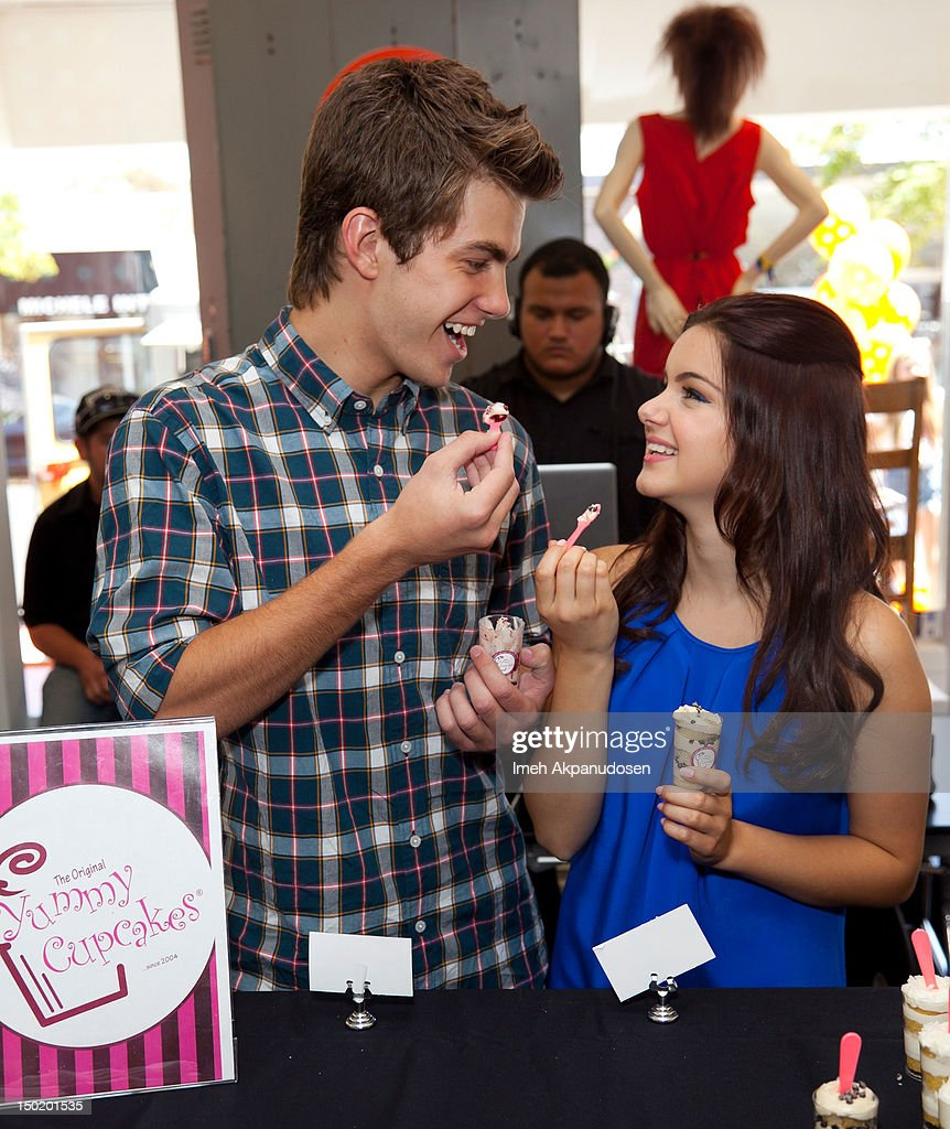 Actors Cameron Palatas (L) and <a gi-track='captionPersonalityLinkClicked' href=/galleries/search?phrase=Ariel+Winter&family=editorial&specificpeople=715954 ng-click='$event.stopPropagation()'>Ariel Winter</a> attend the Teen Vogue Back-To-School Event & Madison t Boutique Launch Party on August 11, 2012 in Pacific Palisades, California.