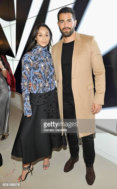 Actors Cara Santana and Jesse Metcalfe attend Dior Lady Art Los Angeles Popup Boutique Opening Event on December 6 2016 in Beverly Hills California