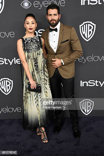Actors Cara Santana and Jesse Metcalfe attend the 18th Annual PostGolden Globes Party hosted by Warner Bros Pictures and InStyle at The Beverly...