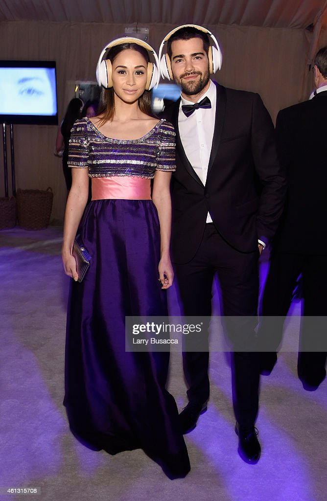 Actors Cara Santana and Jesse Metcalfe attend the Art of Elysium and Samsung Galaxy present Marina Abramovic's HEAVEN at GREY GOOSEsupported Art of...
