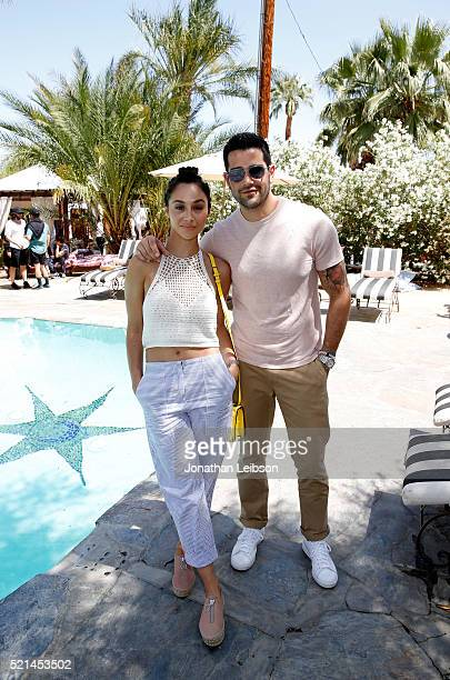 Actors Cara Santana and Jesse Metcalfe attend The Retreat Palm Springs 2016 on April 15 2016 in Palm Springs California