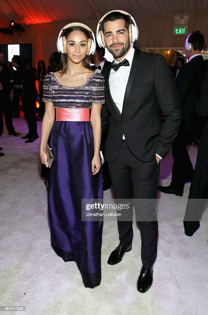 Actors Cara Santana and Jesse Metcalfe wearing Samsung Level headphones attend the 8th Annual HEAVEN Gala presented by Art of Elysium and Samsung...