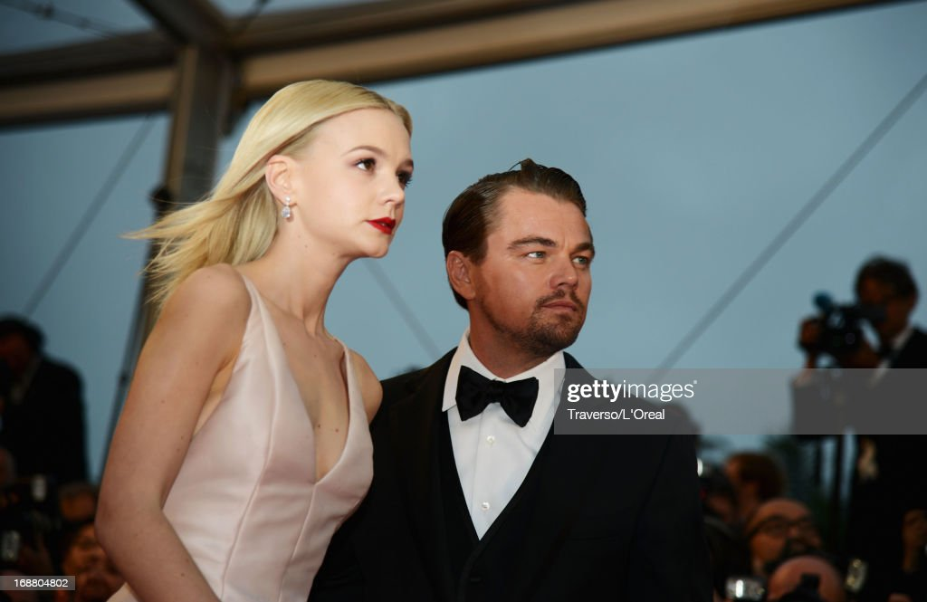 Actors Carey Mulligan (L) and Leonardo DiCaprio attend the Opening Ceremony and 'The Great Gatsby' Premiere during the 66th Annual Cannes Film Festival at the Theatre Lumiere on May 15, 2013 in Cannes, France.