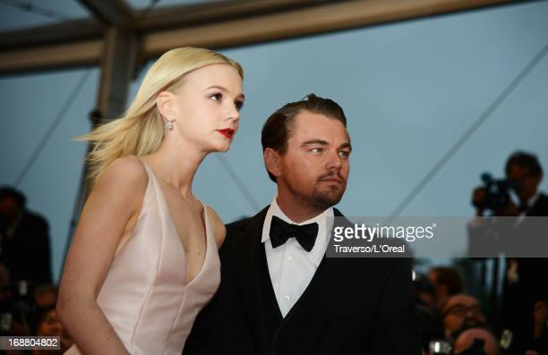 Actors Carey Mulligan and Leonardo DiCaprio attend the Opening Ceremony and 'The Great Gatsby' Premiere during the 66th Annual Cannes Film Festival...