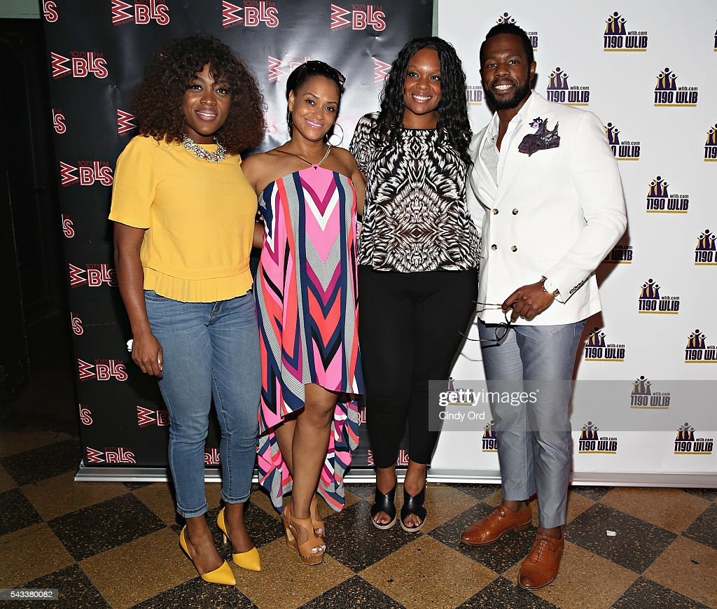 Actors Carla R. Stewart, <a gi-track='captionPersonalityLinkClicked' href=/galleries/search?phrase=Rema+Webb&family=editorial&specificpeople=6241067 ng-click='$event.stopPropagation()'>Rema Webb</a>, Carrie Compere and Akron Watson attend as WBLS 107.5 and 1190 WLIB celebrate Black Music Month with Broadway's 'The Color Purple' on June 27, 2016 in New York City.