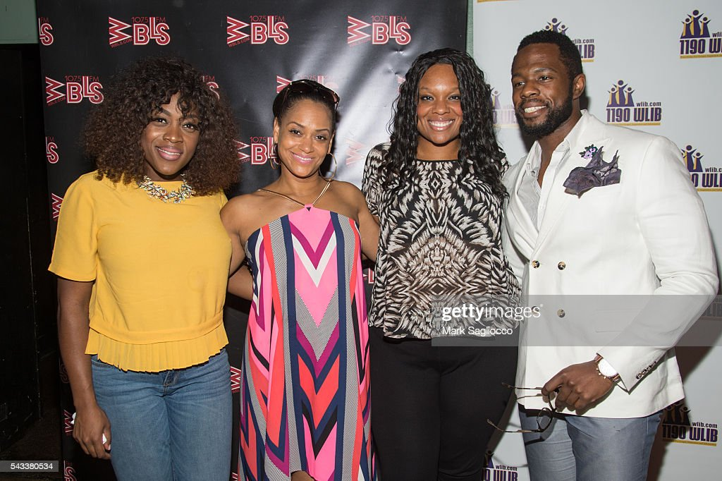 Actors Carla R. Stewart, <a gi-track='captionPersonalityLinkClicked' href=/galleries/search?phrase=Rema+Webb&family=editorial&specificpeople=6241067 ng-click='$event.stopPropagation()'>Rema Webb</a>, Carrie Compere and Akron Watson attend the WBLS 107.5 & 1190 WLIB Celebration of Black Music Month with Broadway's 'The Color Purple' on June 27, 2016 in New York City.