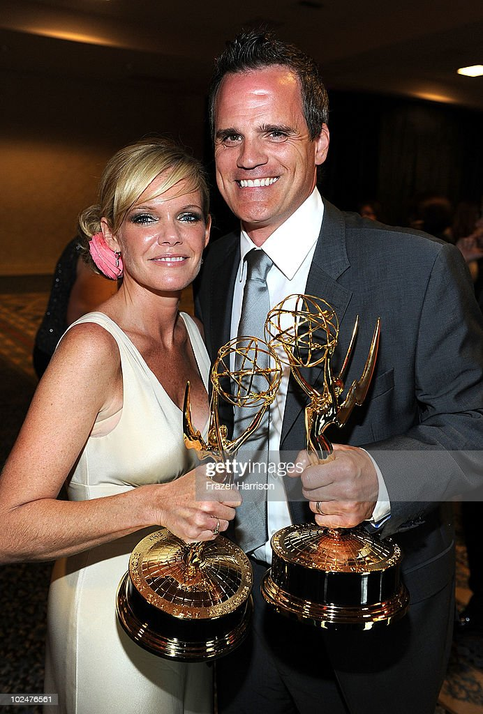 Actors Carly Tenney Snyder and attend the 37th Annual Daytime Entertainment Emmy Awards after party held at the Las Vegas Hilton on June 27, 2010 in Las Vegas, Nevada.
