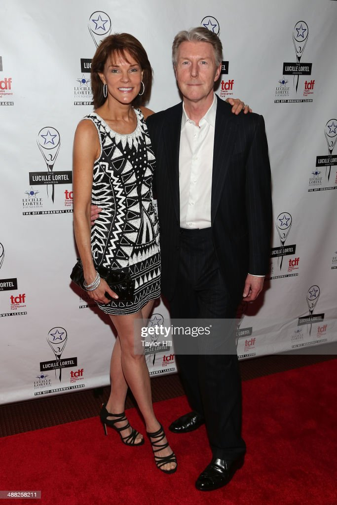 Actors Carolyn McCormick and Byron Jennings attend the 29th Annual Lucille Lortel Awards at NYU Skirball Center on May 4, 2014 in New York City.