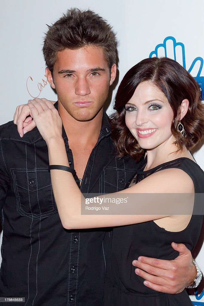 Actors Casey Moss (L) and Jen Lilley attend 'From One Second To The Next' Los Angeles Special Screening at SilverScreen Theater at the Pacific Design Center on August 8, 2013 in West Hollywood, California.
