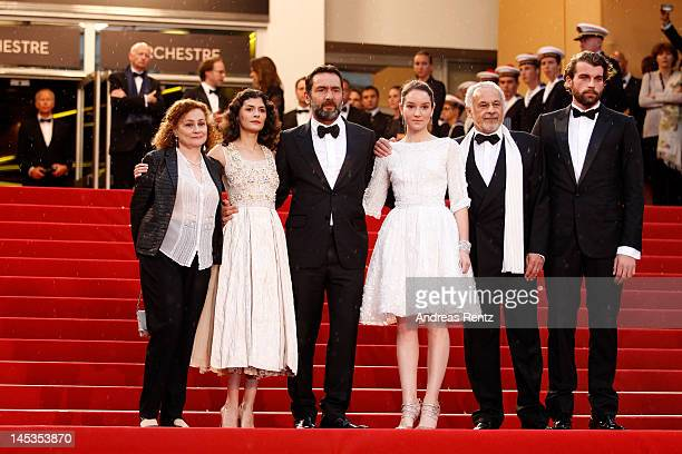 Actors Catherine Arditi Audrey Tautou Gilles Lellouche Anais Demoustier Francis Perrin and Stanley Weber attend the Closing Ceremony and 'Therese...