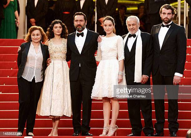 Actors Catherine Arditi Audrey Tautou Gilles Lelouche Anaïs Demoustier Francis Perrin and Stanley Weber attend the Closing Ceremony Therese...