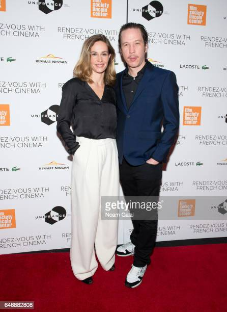 Actors Cecile de France and Reda Kateb attend the opening night premiere of 'Django' at The Film Society of Lincoln Center Walter Reade Theatre on...