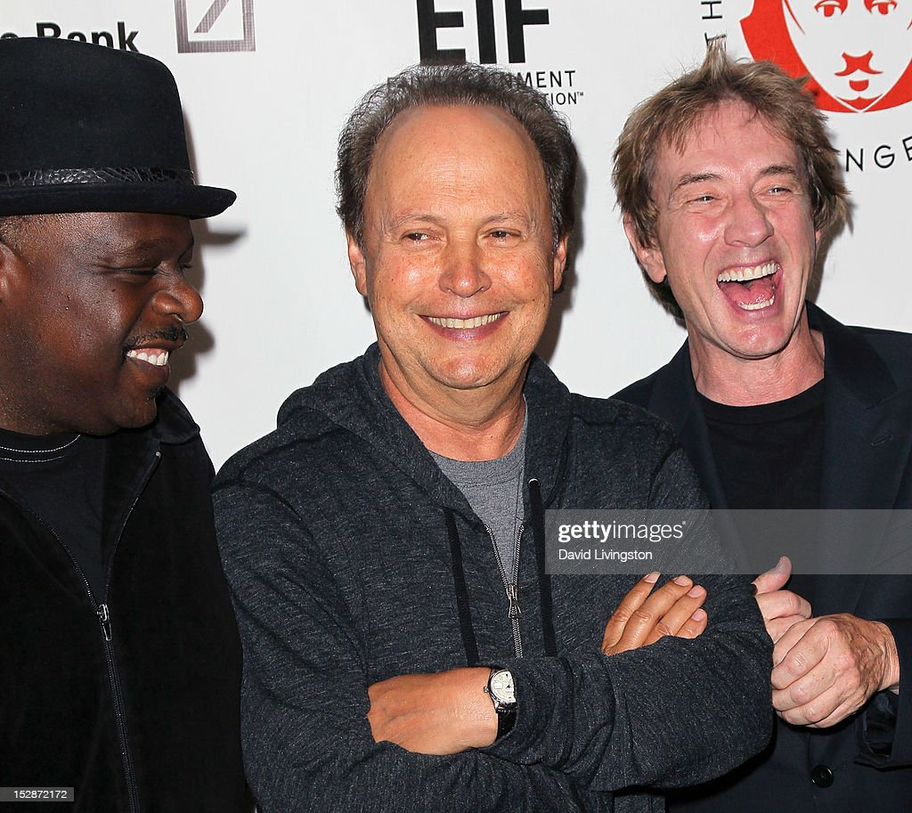 Actors Cedric the Entertainer, Billy Crystal and Martin Short attend the Shakespeare Center of Los Angeles' 22nd Annual 'Simply Shakespeare' at the Freud Playhouse, UCLA on September 27, 2012 in Westwood, California.