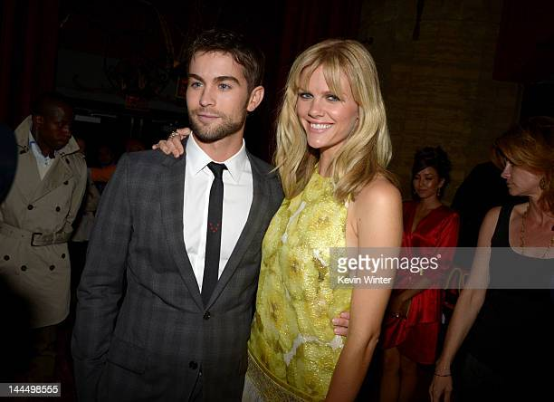 Actors Chace Crawford and Brooklyn Decker arrive at the premiere of Lionsgate's 'What To Expect When You're Expecting' held at Grauman's Chinese...