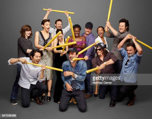 Actors Chandler Riggs Lauren Cohan Ross Marquand Christian Serratos Danai Gurira Michael Cudlitz Sonequa MartinGreen Josh McDermitt Steven Yeun...