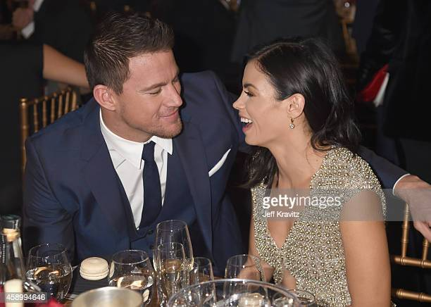 Actors Channing Tatum and Jenna Dewan Tatum attend the 18th Annual Hollywood Film Awards at The Palladium on November 14 2014 in Hollywood California