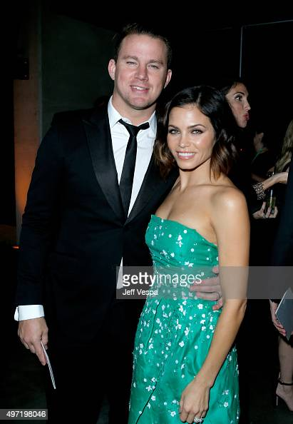 Actors Channing Tatum and Jenna Dewan Tatum attend the 2015 Baby2Baby Gala presented by MarulaOil Kayne Capital Advisors Foundation honoring Kerry...
