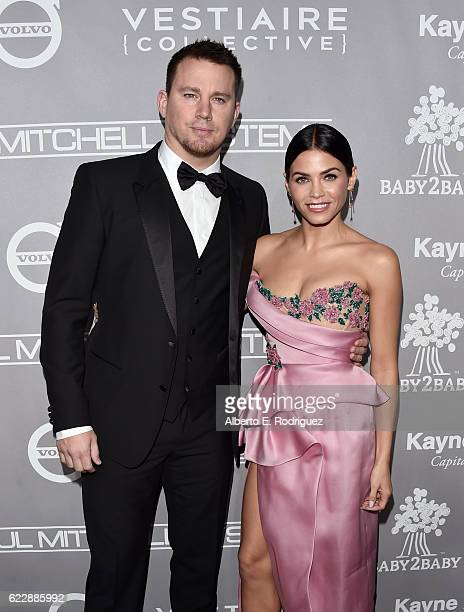 Actors Channing Tatum and Jenna Dewan Tatum attend the 5th Annual Baby2Baby Gala at 3LABS on November 12 2016 in Culver City California