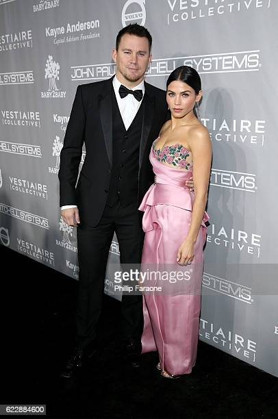 Actors Channing Tatum and Jenna Dewan Tatum attend the Fifth Annual Baby2Baby Gala Presented By John Paul Mitchell Systems at 3LABS on November 12...