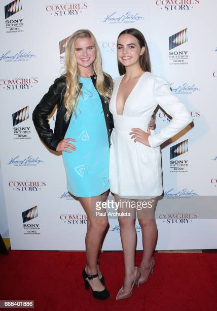 Actors Chappell Bunch and Bailee Madison attend the premiere of 'A Cowgirl's Story' at Pacific Theatres at The Grove on April 13 2017 in Los Angeles...