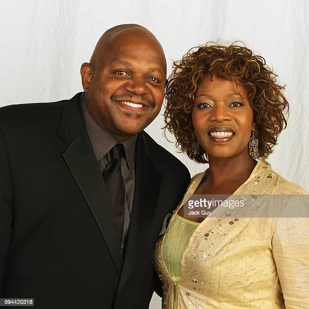 Actors Charles Dutton and Alfre Woodard are photographed for Emmy Magazine at the 55th Annual Emmy Awards on September 21 2003 in Los Angeles...