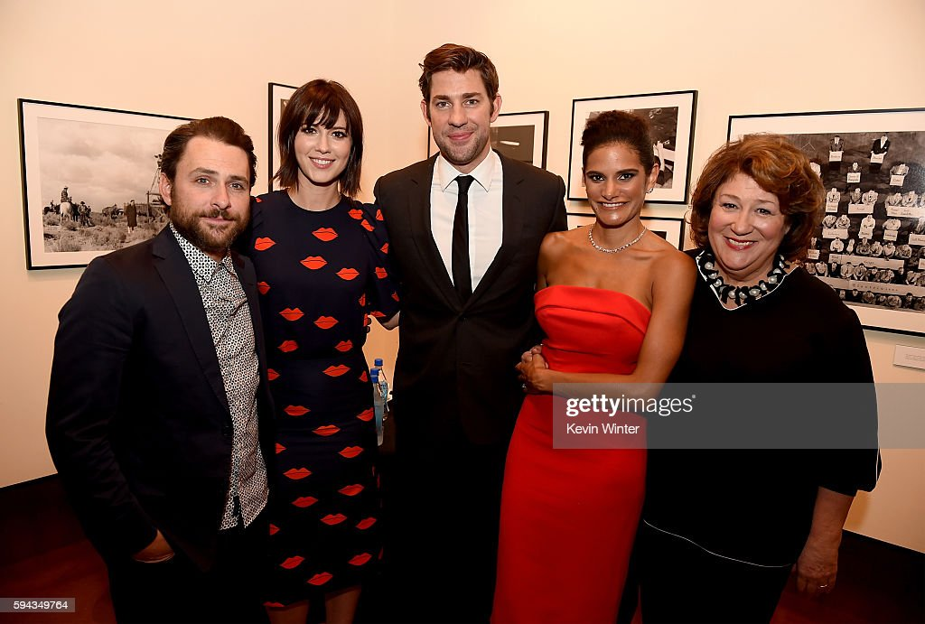 Actors Charlie Day Mary Elizabeth Winstead director/actor John Krasinski actors Ashley Dyke and Margo Martindale attend the premiere of Sony Pictures...