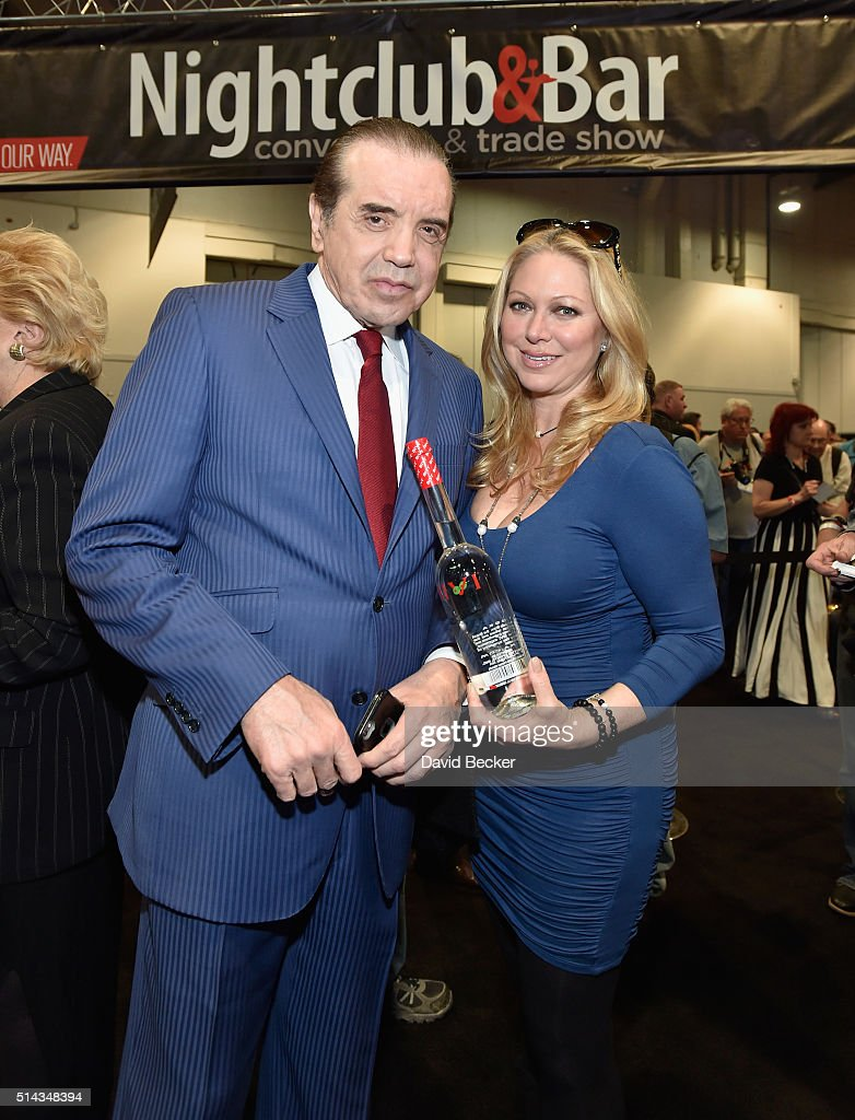 Actors Chazz Palminteri and Gianna Palminteri attend the 31st annual Nightclub Bar Convention and Trade Show on March 8 2016 in Las Vegas Nevada