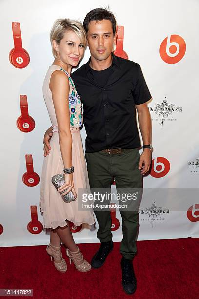 Actors Chelsea Kane and Stephen Colletti attend the Beats By Dr Dre Lil Wayne VMA AfterParty at Playhouse Hollywood on September 6 2012 in Los...