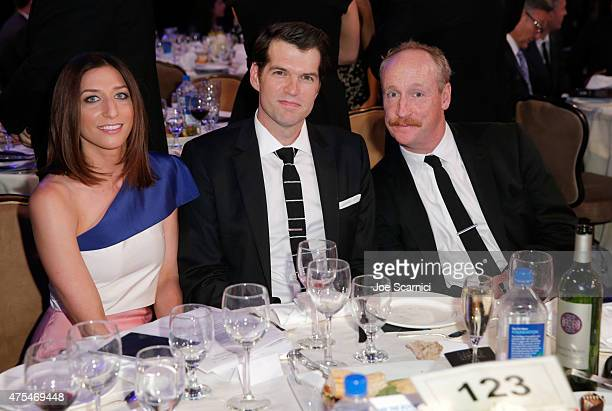 Actors Chelsea Peretti Tim Simons and Matt Walsh attend the 5th Annual Critics' Choice Television Awards at The Beverly Hilton Hotel on May 31 2015...